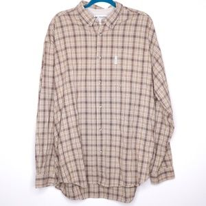 Columbia | Window Pane Plaid Casual Shirt XXL